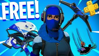 "VOICI THE FREE SKIN OF PACK ""PLAYSTATION PLUS 3"" on FORTNITE Battle Royale 😱"