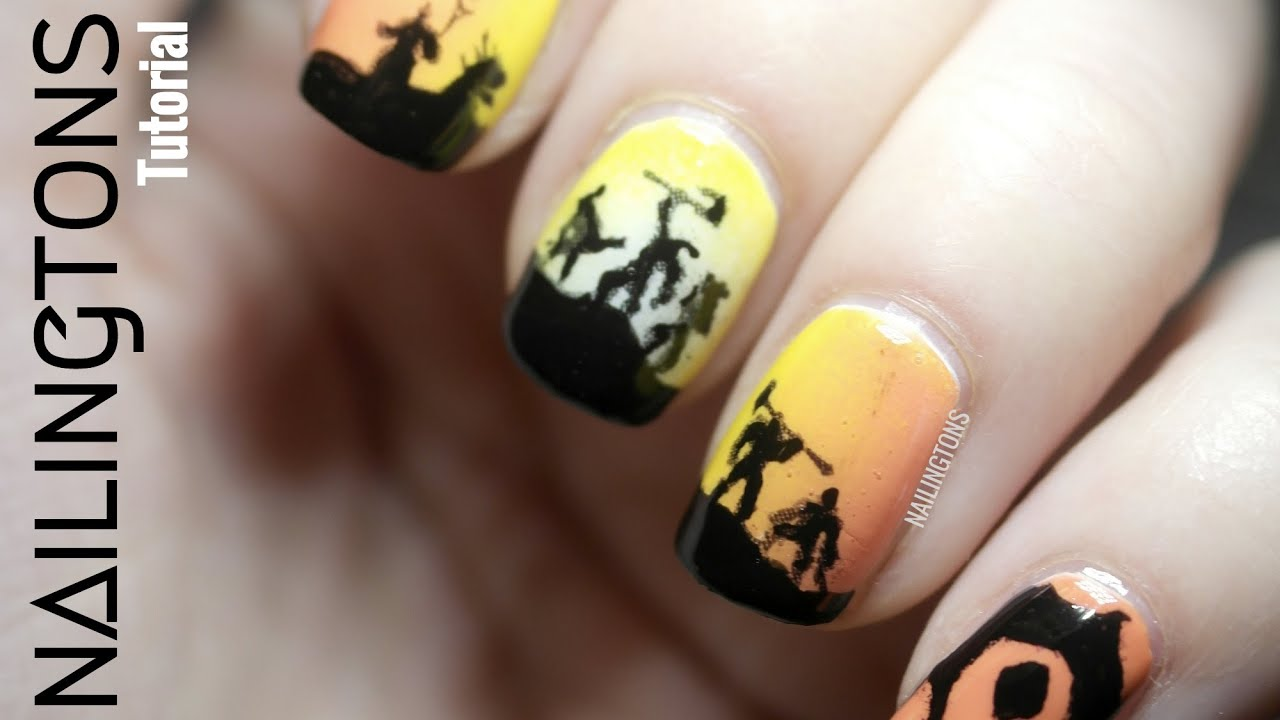 World of Warcraft: Warlords of Draenor Nail Art - YouTube