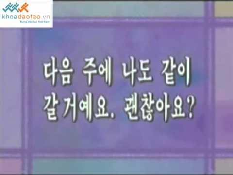 Cùng học tiếng Hàn Quốc bai 27 P2