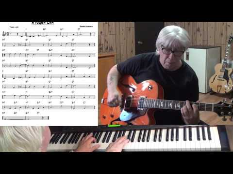 A Foggy Day - Jazz guitar & piano cover ( George Gershwin )
