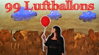 99 Luftballons - Tuana Mey [Stop Motion]