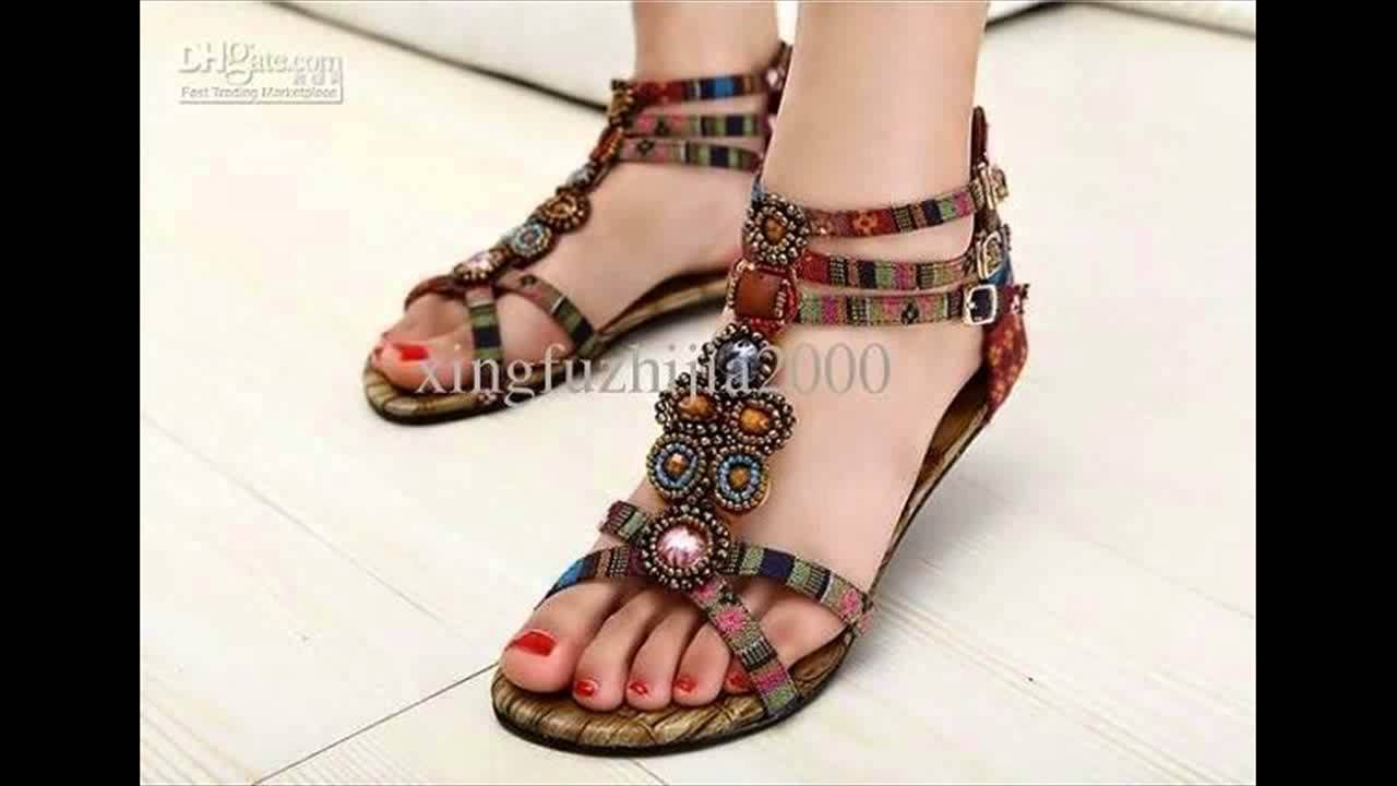 summer fashion young girls sandals designs shoes