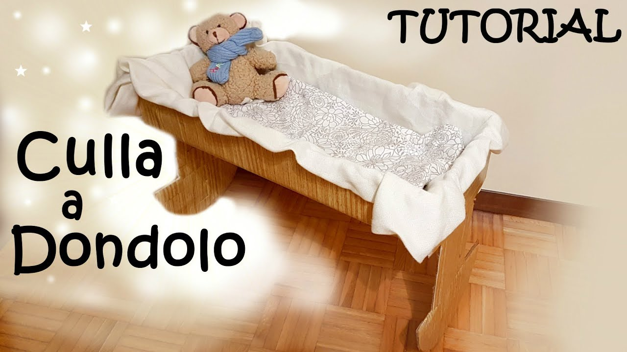 Costruire Una Culla A Dondolo.Come Creare Una Culla A Dondolo Per Bambole Reborn Gratis E Facile