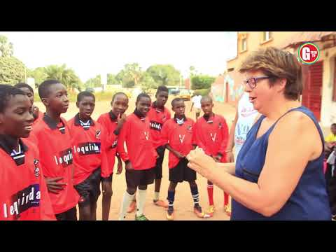 Netherlands Support Football in The Gambia West Africa