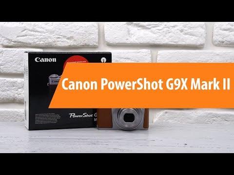 Распаковка-компактной-камеры-canon-powershot-g9x-mark-ii-/-unboxing-canon-powershot-g9x-mark-ii