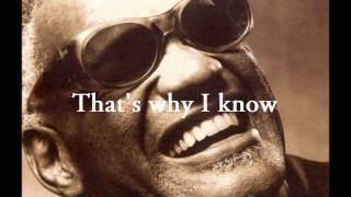 Hallelujah I Love Her So Lyrics By Ray Charles