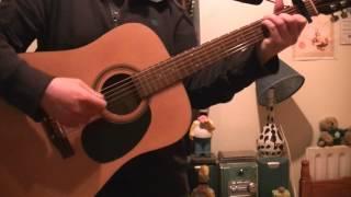 """Ryan Sheridan: """"Walking In The Air"""" (acoustic guitar cover)"""