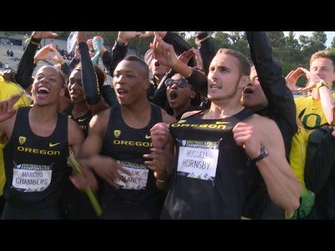 Oregon men claim longest title streak in conference history