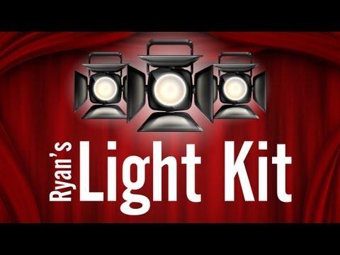 Ryan's Light Kit: Low Budget Lighting Tips For Your Videos & Films!