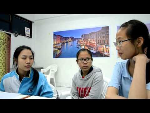 หนังสั้นภาษาอังกฤษ โรงเรียนสตรีศึกษา My friend