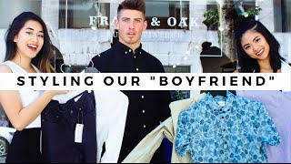"Styling Our ""Boyfriend""!"