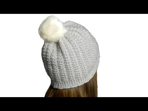 Tricotin - Bonnet Point Bambou I Loom knitting - YouTube 3f6baf2ed4c