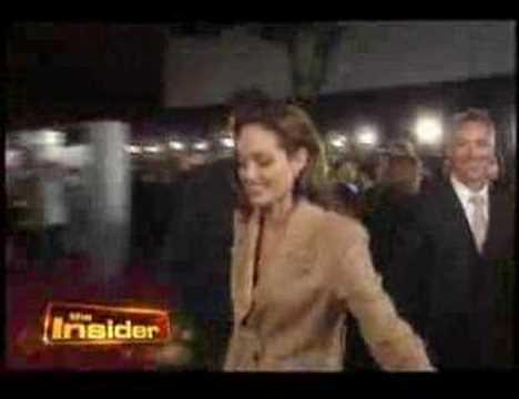 Angelina Jolie on Beowulf Premiere