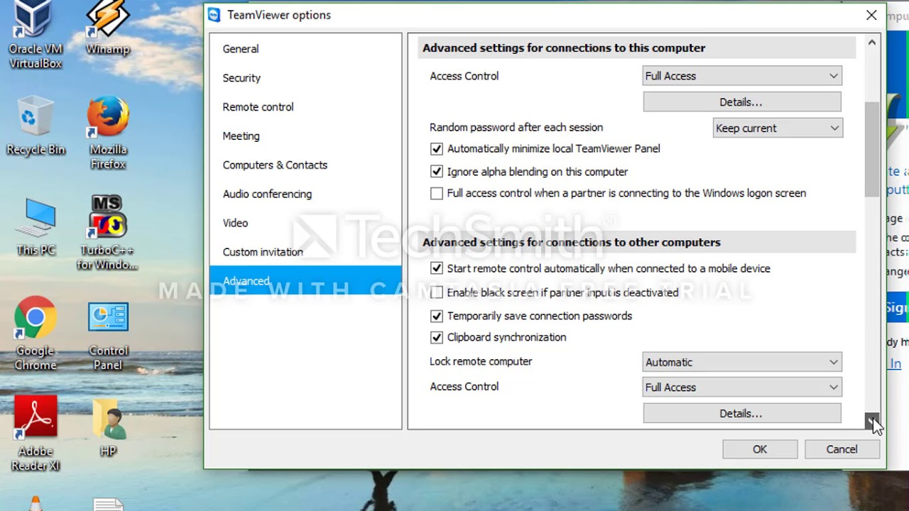 How To Set Permanent Password for TeamViewer to access your pc from anywhere