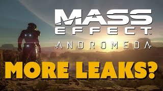MORE Mass Effect Andromeda Leaks? - The Know