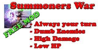 FREE! Summoners War 3.5.2 MOD APK | High Damage | Dumb Enemies | AlwaysTurn | Low HP | Hack @G-Bo