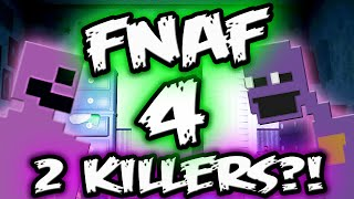 FNAF 4 Explained || 2 KILLERS EASTER EGG?! || Five Nights at Freddy's 4 Explained
