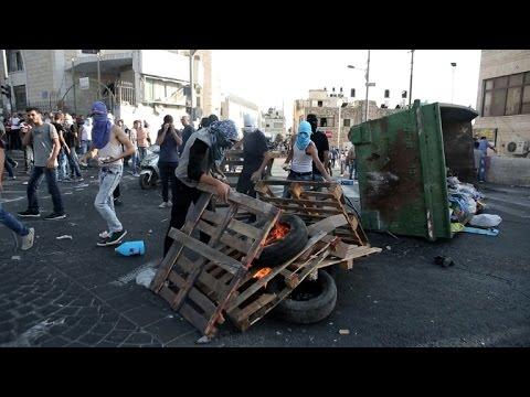 Clashes in Jerusalem on Monday