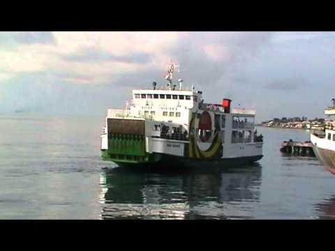 a docking ship
