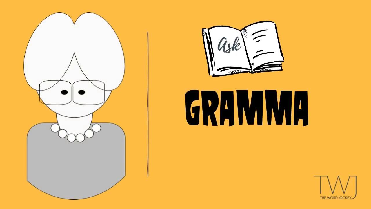 GRAMMA's TIP 1 : THE OXFORD COMMA