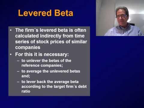 (4) LEVERAGING AND UNLEVERAGING BETA