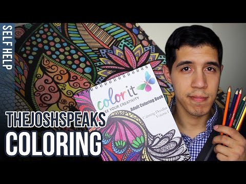 Dealing with Anxiety using Coloring Books