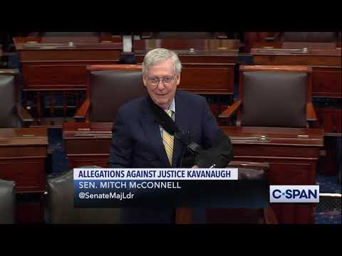Senate Majority Leader Mitch McConnell on Allegations Against Justice Brett Kavanaugh