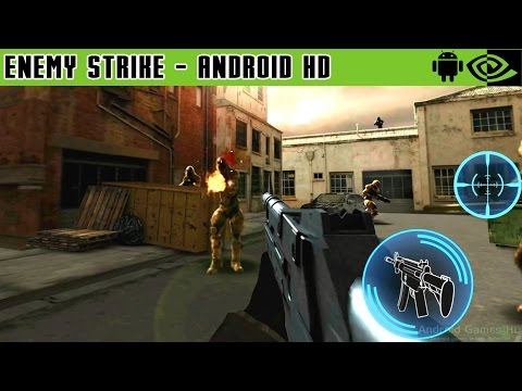 Enemy Strike - Gameplay Nvidia Shield Tablet Android 1080p (Android Games HD)