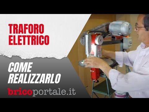 Traforo elettrico fai da te per legno e ferro youtube for Bordi per aiuole fai da te
