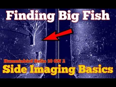 Humminbird Side Imaging Basic Settings - Fish Finder Settings - Side Imaging