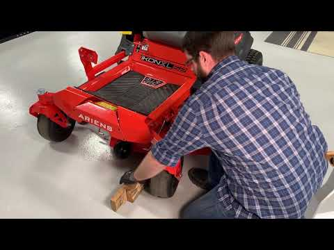 How to Remove a Lawn Mower Deck | Ariens®