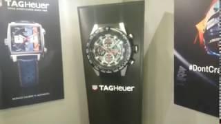 Horlogerie TAGHEUER Monaco : Présent à Top Marques Monaco 2018