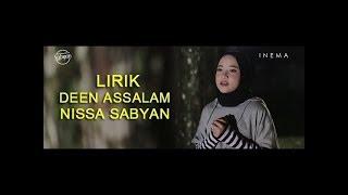 DEEN ASSALAM   Sabyan Gambus Lyrics Musik