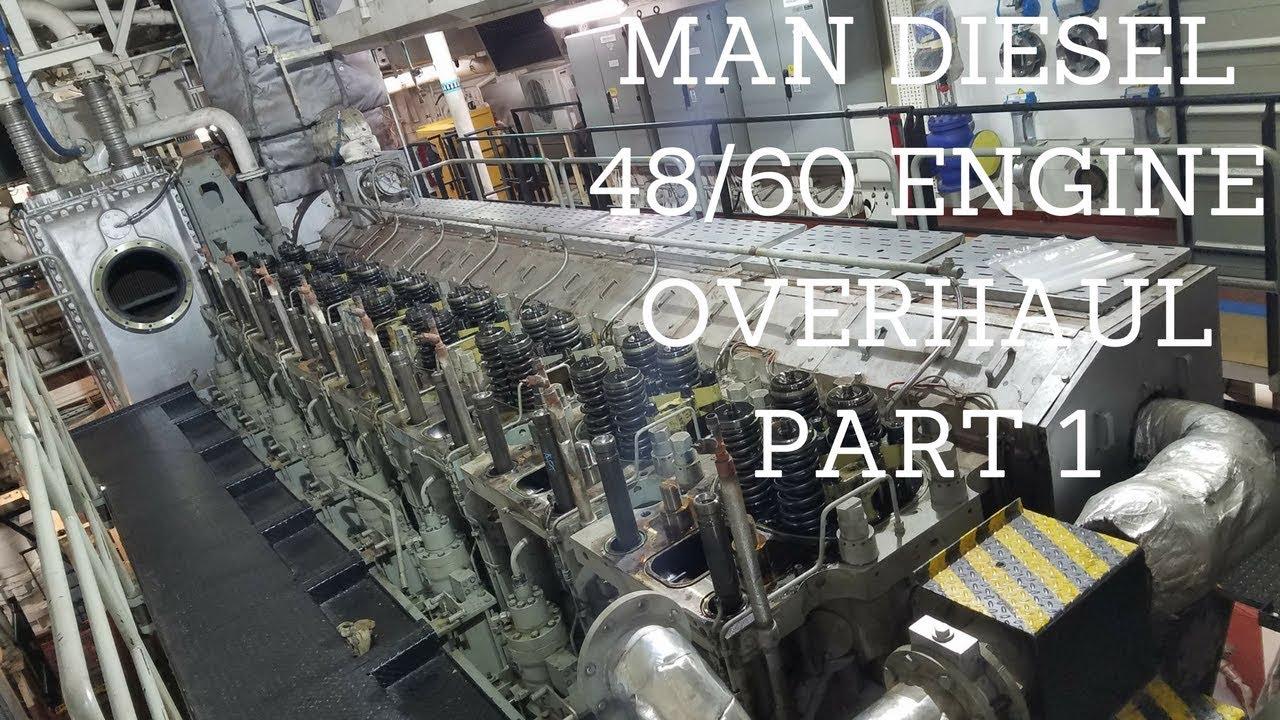 MAN Diesel 48 60 Overhaul Part 1