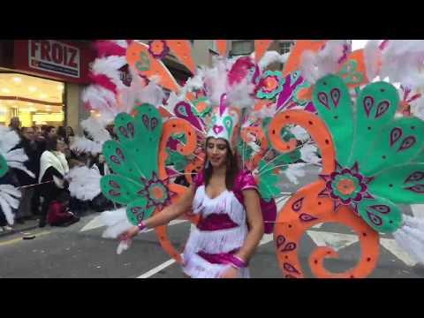 Desfile de Entroido en Pontevedra