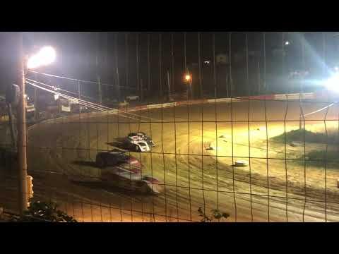 Beckley Motorsports Park UMP modified heat race 7-20-2019