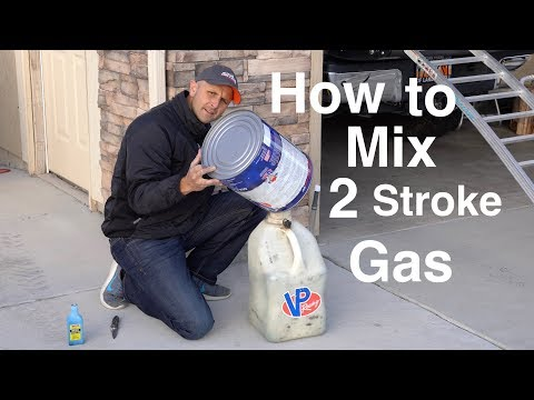 How To Mix 2 Stroke Gas - Spoiler Alert!!