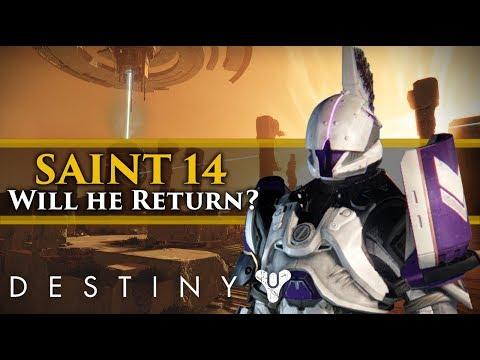 Destiny 2 Lore - Will Saint-14 return in the Curse of Osiris DLC?