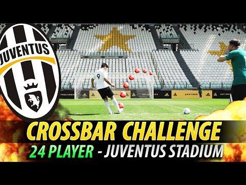 CROSSBAR CHALLENGE EPICA - JUVENTUS STADIUM (Allianz Stadium) w/24 Players - IlluminatiCrew