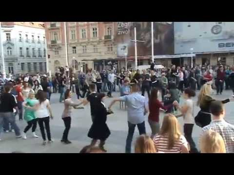 International Rueda De Casino Multi Flash Mob- Zagreb, Coatia 29.03.2014