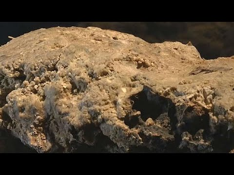 London's 'fatberg' moves from sewer to museum