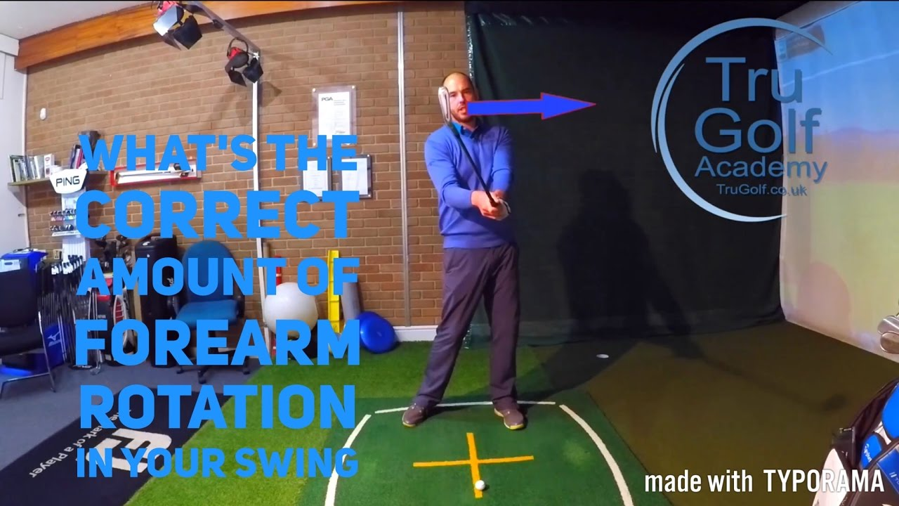Forearm Rotation In Your Golf Swing Youtube