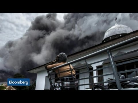 Top Photos: Ash Spews From Mt. Sinabung Volcano