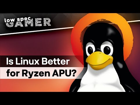 Is Linux A Better Gaming OS For Ryzen APUs? (Native, Proton, Dxvk And Lutris)