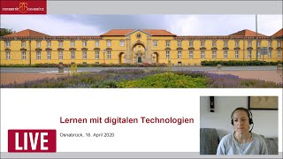 Informationsveranstaltung für studierende am 16. april 2020 um 16:00 uhr. 20.04.2020 startet die universität osnabrück wegen der corona-krise in deutschla...