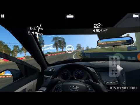 Real Racing 3 Destroying Hyundai Veloster Turbo (How To Show A Bad Car That You Don't Like It)