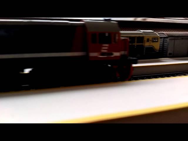 Dipo Depok Kereta api Model indonesia