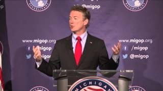 FULL Rand Paul Speech at Mackinac Republican Leadership Conference w: Justin Amash