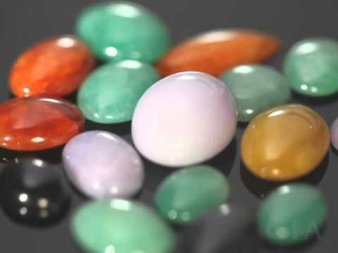 Jadeite's Color Range in Lavender and Red by GIA