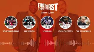 First Things First audio podcast (1.12.18) Cris Carter,Nick Wright,Jenna Wolfe | FIRST THINGS FIRST